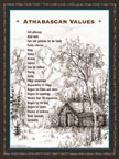 Athabascan Values Poster